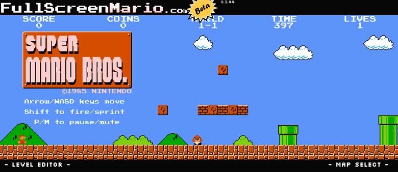 juegos de mario bros Juega Mario bros online con todos sus niveles originales en Full Screen Mario