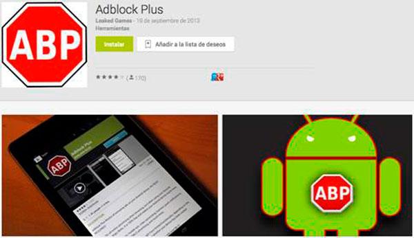malware adblock ¡Cuidado! Aplicación maliciosa se hace pasar por Adblock Plus para Android