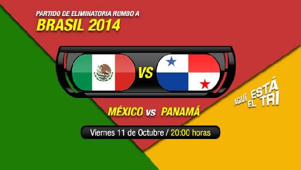 México vs Panamá en vivo, Eliminatorias Brasil 2014 - mexico-vs-panama-televisa
