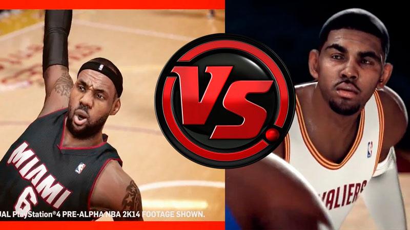 NBA 2K14 vs NBA Live 14 en la nueva generación ¿Cuál será mejor? - nba-2k14-vs-nba-live14