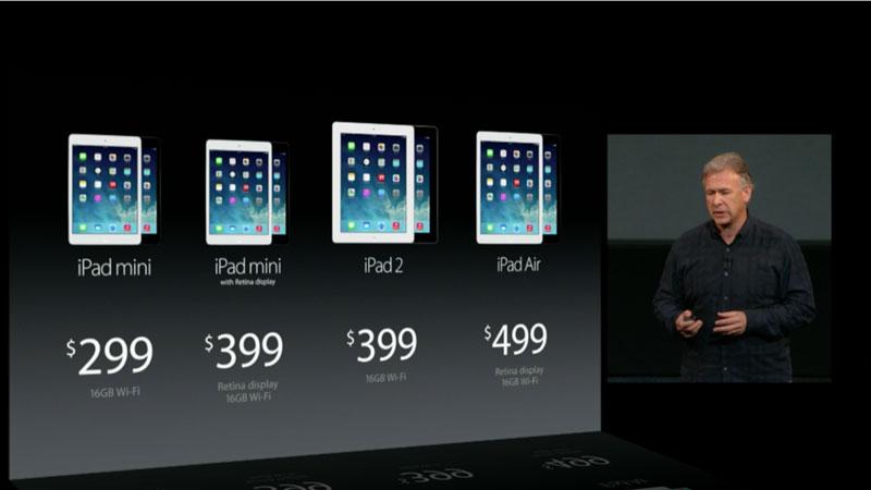 nuevos ipads Apple presenta al nuevo iPad Air y un iPad Mini con Retina Display