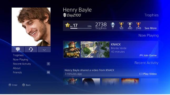 playstation 4 Sony prepara la aplicación de PlayStation 4 para iOS y Android