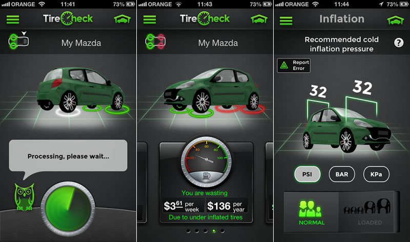 TireCheck, una app que revisa la presión de neumáticos con el iPhone - presion-neumaticos-iphone