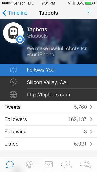 Tweetbot 3 aparece finalmente pero como nueva aplicación con un costo de 3 dólares - screen568x568-3