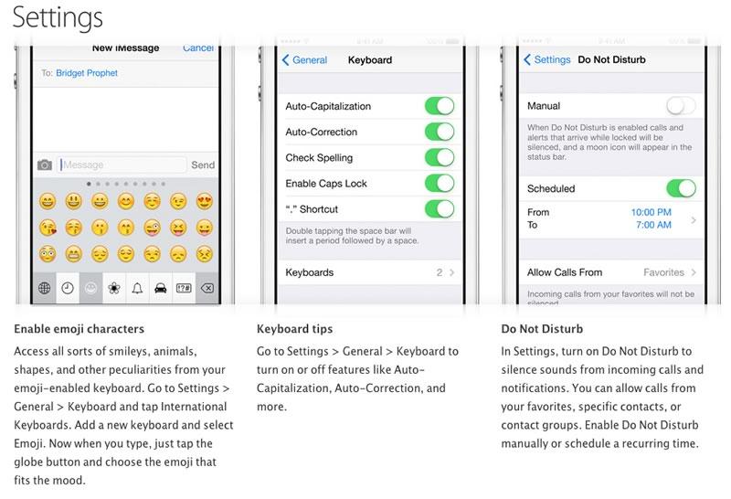 Trucos para iPhone publicados por Apple - trucos-iphone-ajustes