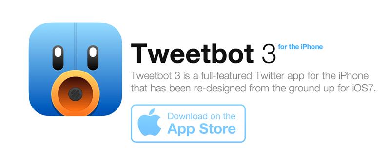 tweetbot 3 Tweetbot 3 aparece finalmente pero como nueva aplicación con un costo de 3 dólares
