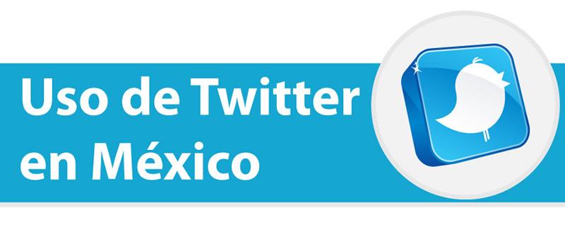 twitter en mexico Uso de Twitter en México [Infografía]