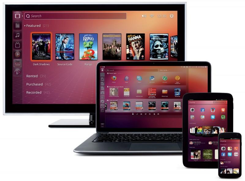 Ubuntu 13.10 y Ubuntu Touch para móviles ya disponibles para descargar - ubuntu-tv-pc-smartphone-tablet-800x592