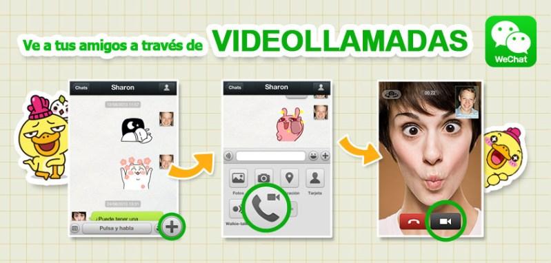 WeChat presenta nuevas características y mayor seguridad - video-call