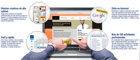 Crea tú mismo la página web para tu negocio con 1&1 MyWeb