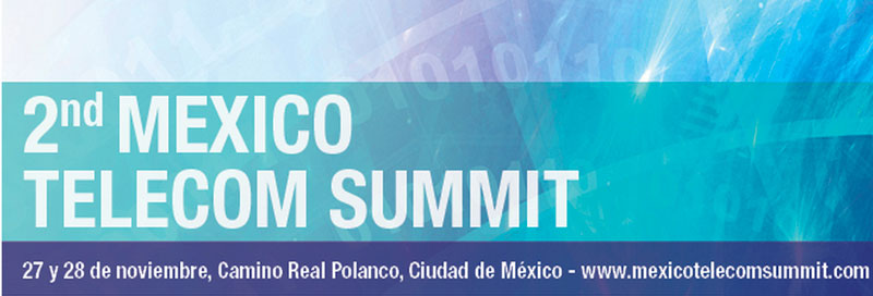 2ndo Mexico Telecom Summit 2013 este 27 y 28 de noviembre - 2nd-mexico-summit-telecom