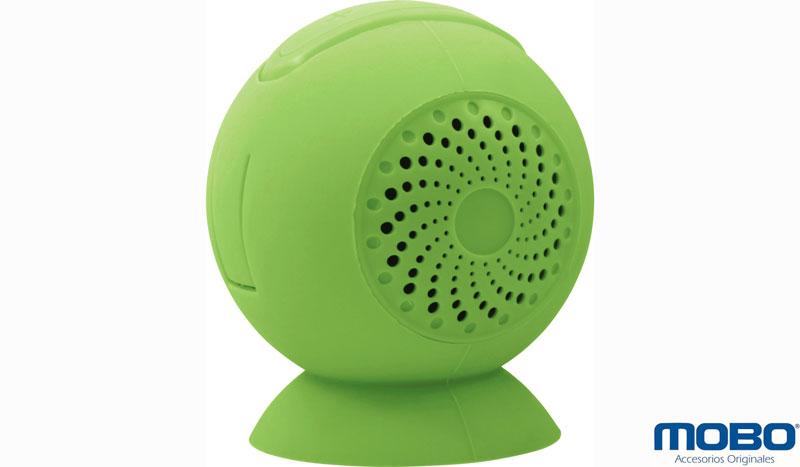 Lleva tu música a todas partes con la Bocina Fashion inalámbrica de Mobo - Bocina-fashion-verde