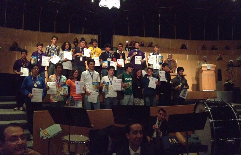 GanadoresOroOMM2013 Estudiantes de Chihuahua los mejores en la olimpiada mexicana de matemáticas 2013