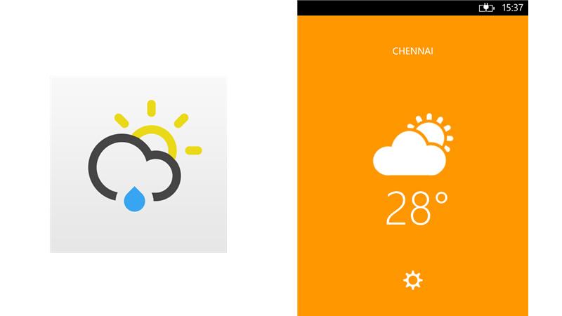Just Weather Windows Phone Just Weather, una minimalista y bella app de clima para Windows Phone 8