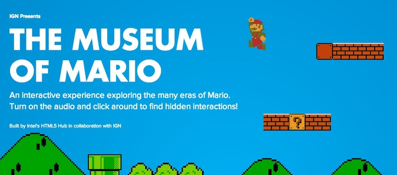 Crean museo virtual de Mario Bros - Museo-Virtual-Mari-Bros