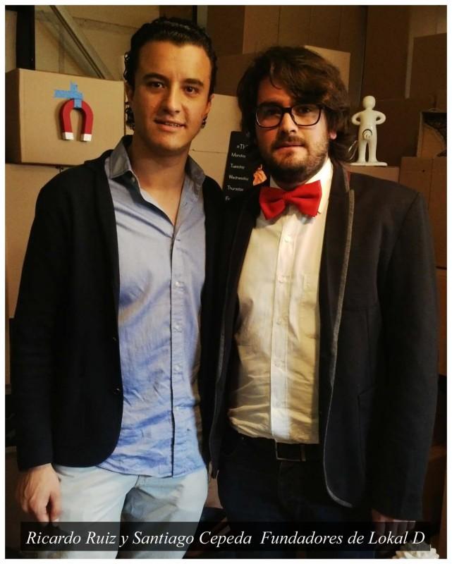 Ricardo Ruiz y Santiago Cepeda fundadores del proyecto 641x800 Lokal D, productos de diseñadores mexicanos directo a tu puerta