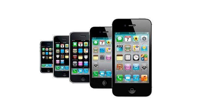 Evolución del iPhone a través de los años [Infografía] - evolucion-iphone-644x362