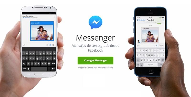 Facebook Messenger se actualiza en iOS y se expande en Android - facebook-messenger-ios-android