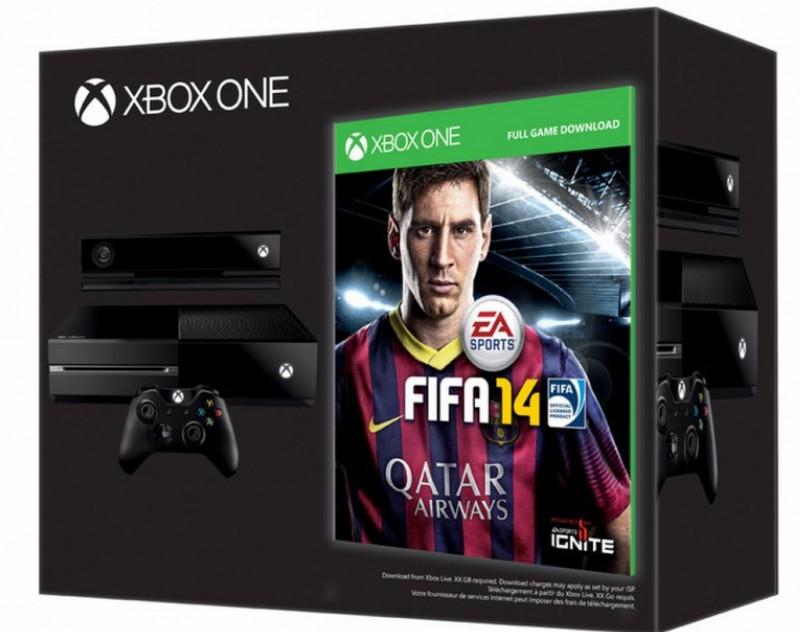 fifa14 xbox onebundle 800x632 FIFA 14 será gratis para los primeros en adquirir un Xbox One