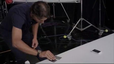 Rafael Nadal completa su jugada de Poker de una manera muy inusual