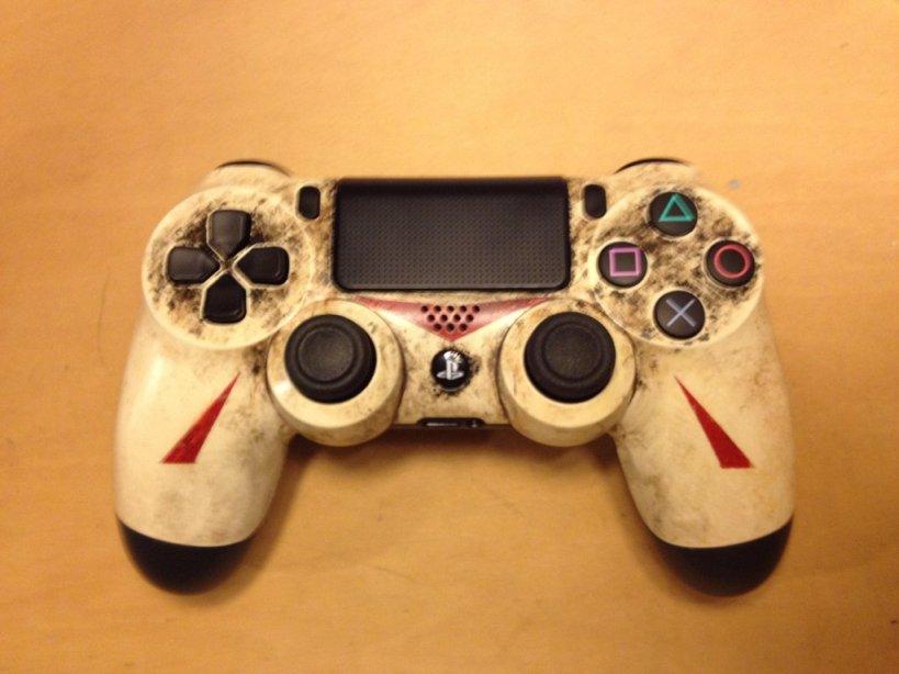 Diseño de DualShock 4 inspirado en Jason Voorhees - 26