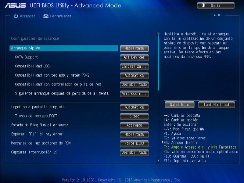 Tarjeta madre ASUS H81M-A para procesadores Intel de 4ta generación [Reseña] - ASUS-bios-h81m-a-7-800x600