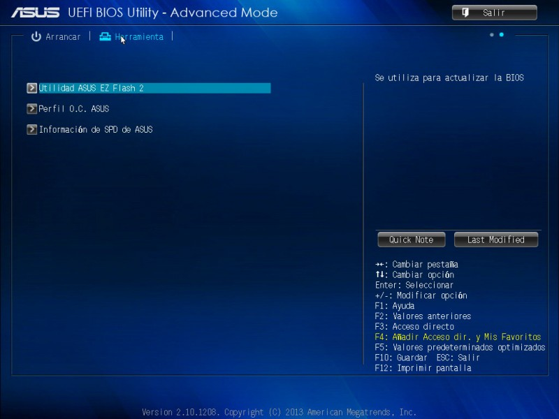 Tarjeta madre ASUS H81M-A para procesadores Intel de 4ta generación [Reseña] - ASUS-bios-h81m-a-8-800x600