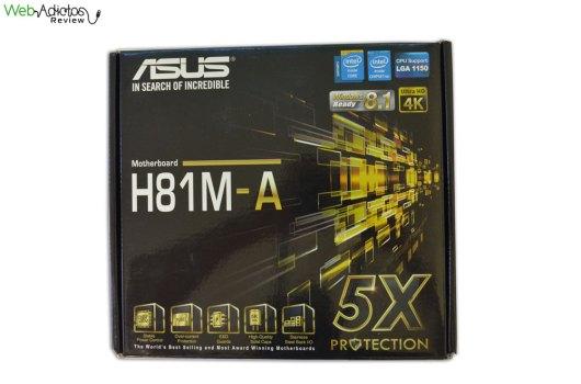 Tarjeta madre ASUS H81M-A para procesadores Intel de 4ta generación [Reseña] - ASUS-h81M-A-1
