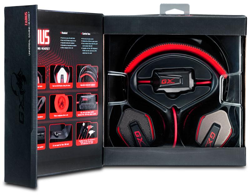 Auriculares Zabius de la serie GX Gaming de Genius ya están disponibles en Latinoamérica - HS-G850-Box-open-1
