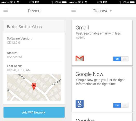 MyGlassiOS Google publica aplicación para configurar sus Glass en iOS