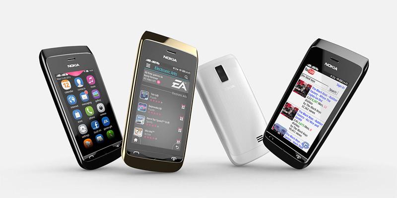Nokia Asha recibe actualización de sistema operativo - Nokia-Asha-310-actualizacion