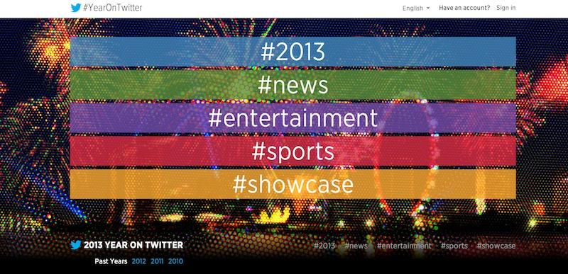 Twitter 2013 Twitter hace un recuento de los sucesos más importantes del 2013