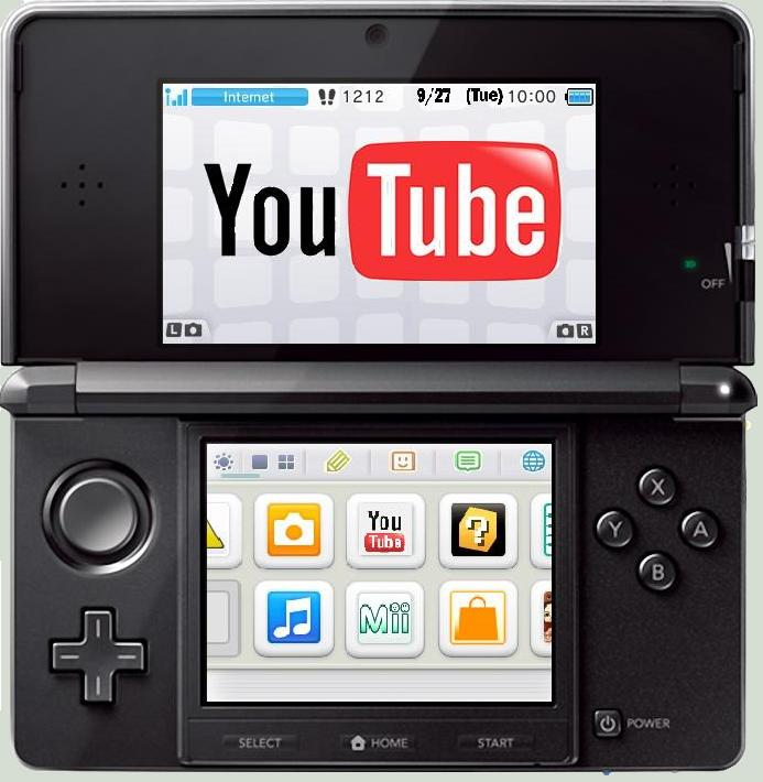 Aplicación de YouTube para Nintendo 3DS por fin es lanzada - YouTube-app-Nitendo-3ds