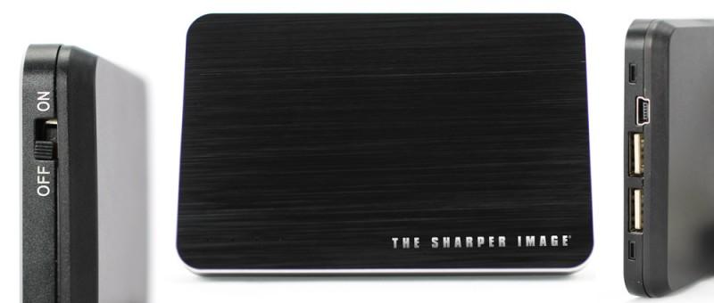 No te quedes sin carga en tus gadgets con la batería Multiusos de Sharper Image - bateria-sharper-image-800x340