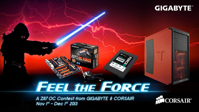 ganadores feel the force gigabyte Ganadores del concurso de Overclock 'Feel the Force' organizado por GIGABYTE
