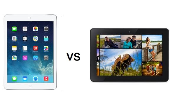 Amazon se burla del nuevo iPad Air en el nuevo comercial de la Kindle Fire HDX - iPad-air-vs-kindle-fire-hdx