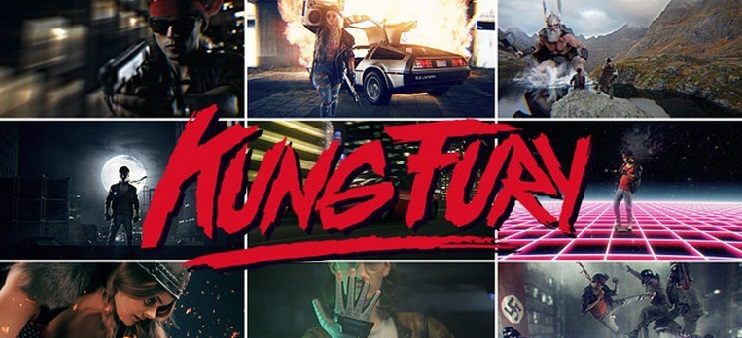 Kung Fury - Brutal comedia de acción que homenajea a los años 80´s (Trailer) - kungbig