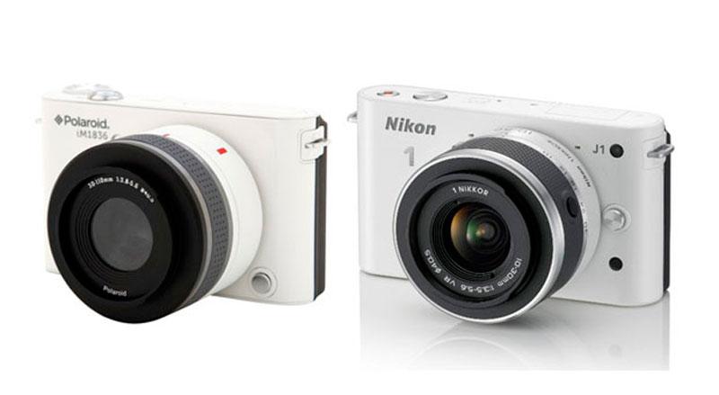 nikon polaroid Polaroid es obligada a dejar de vender la iM1836 en EEUU por parecerse a la J1 de Nikon