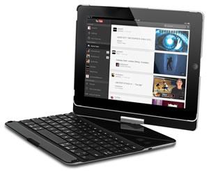 Accesorios para celulares y tablets que puedes regalar esta navidad - teclado-giratorio-ipad