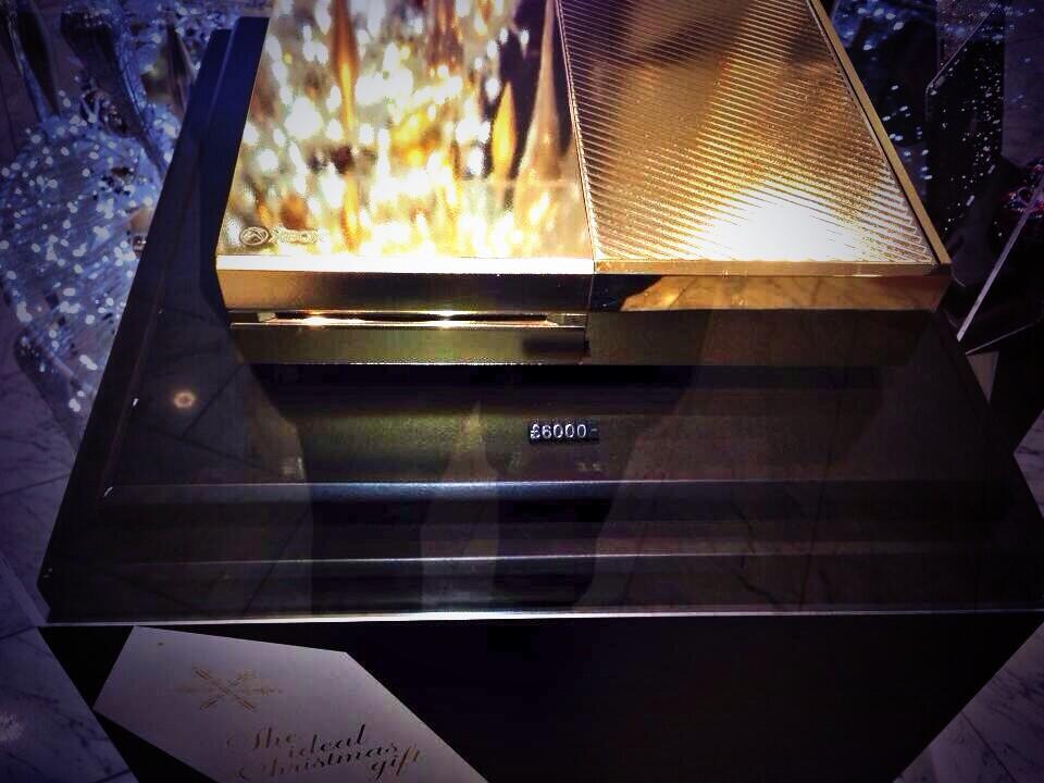 Lujosa tienda en Londres pone a la venta Xbox One bañada en oro de 24 Kilates - xboxone1