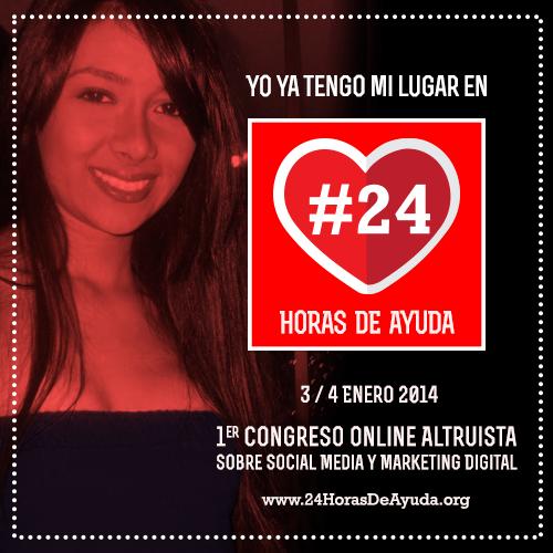 No te pierdas hoy el Congreso de Social Media y Marketing Online #24HorasDeAyuda para una buena causa - 24HorasDeAyuda-Imagen