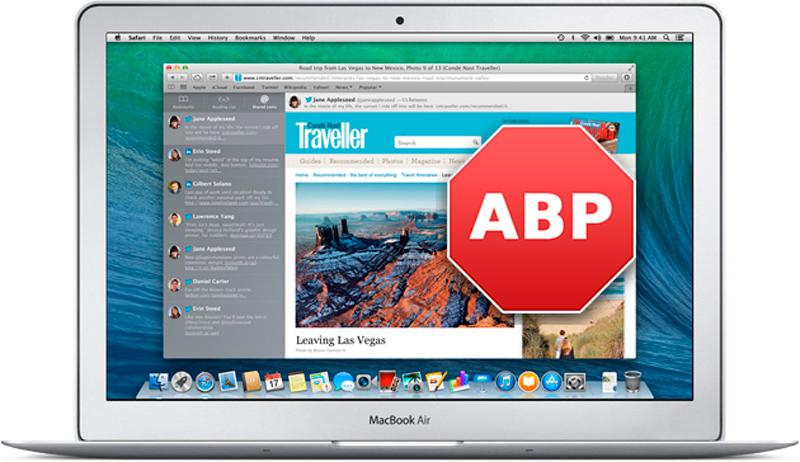 Adblock Plus, el popular bloqueador de publicidad llega a Safari - Adblock-plus-safari