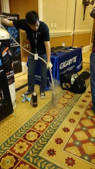 Extreme Overclock organizado por GIGABYTE en el CES 2014 realizado con éxito - Extreme-OverClock-Gigabyte0123