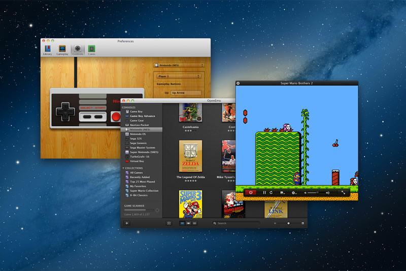 OpenEmu, emulador de Nintendo, Sega y otras plataformas para Mac - Hero-Shot