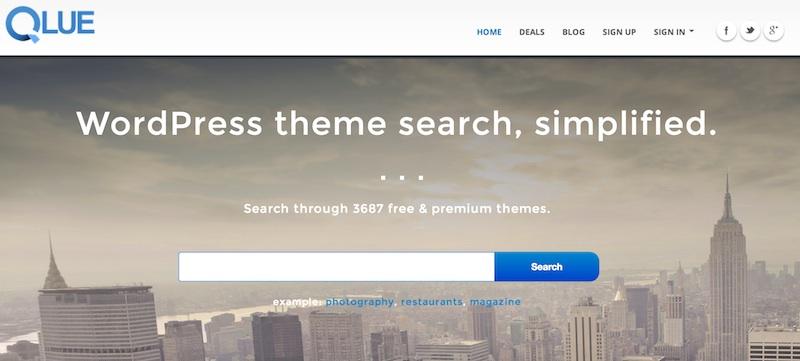 Buscar mejores temas para Wordpress con Qlue - Mejores-temas-para-wordpress