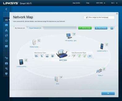 Linksys WRT 1900, un router de próxima generación inspirado en un clásico [CES 2014] - NetworkMap-online-only-WRT-1900AC