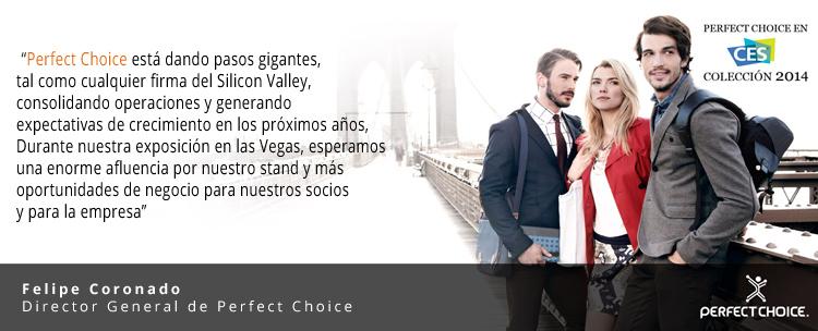 La marca mexicana Perfect Choice está presente en el CES 2014 - Perfect-choice-CES-2014-coleccion1