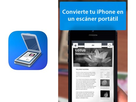 Scanner Pro, una genial app para escanear documentos en iOS