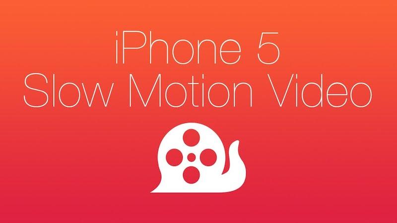 Grabar en cámara lenta en el iPhone 5 con SlowCam - SlowCam