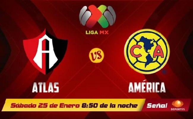 América Vs Atlas En Vivo Por Internet Clausura 2014 Liga Mx
